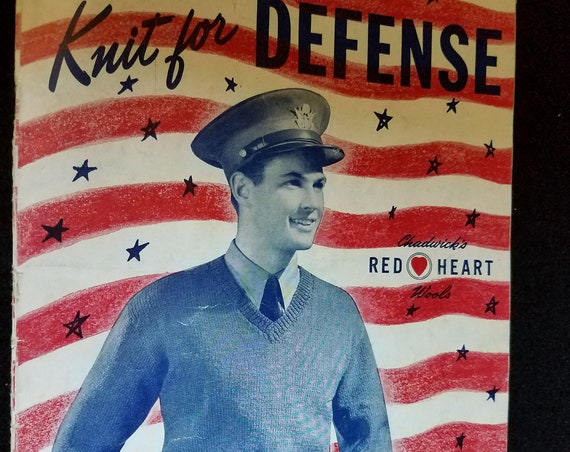 1941 Knit for Defense Book