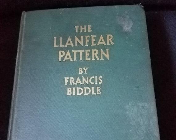 1927 Francis Biddle The Llanfear Pattern