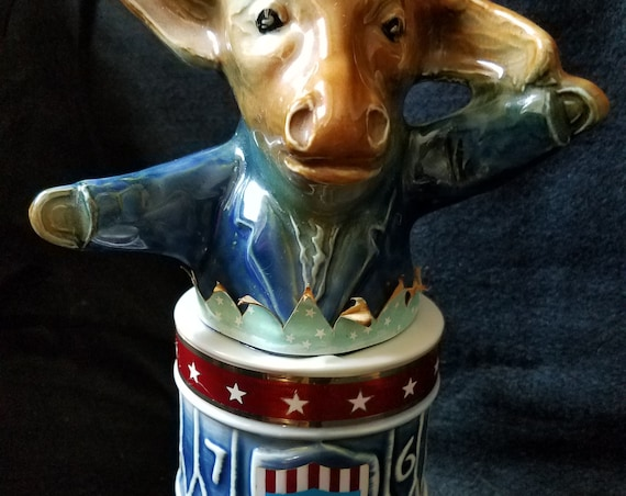 1976 Jim Beam Democrat Decanter