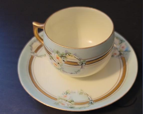J and C Bavaria Tea Cup and Saucer