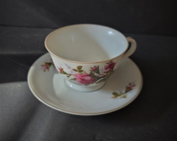Fred Roberts SF Rose Chintz Vintage Cup and Saucer