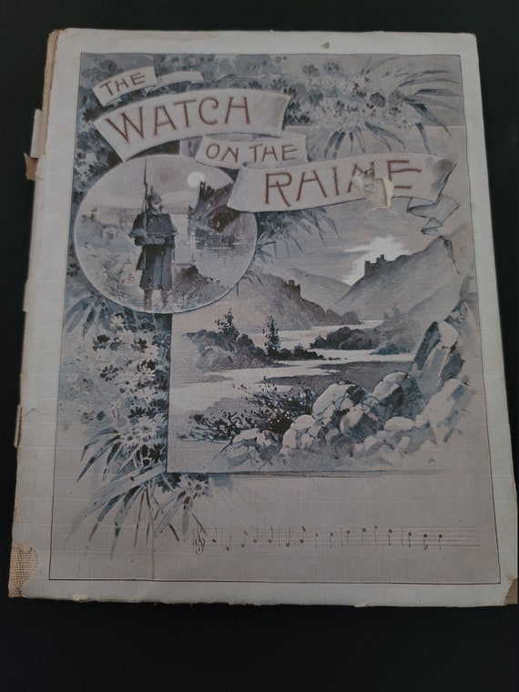 The Watch on the Rhine Songbook circa 1894