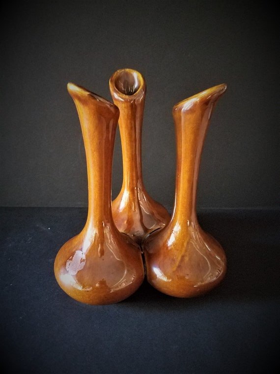 Van Briggle Triple Bud Vase