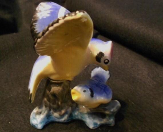Blue Jay Mid Century Ceramic
