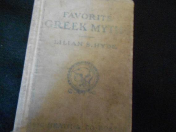Book/Favorite Greek Myths/Lillian S Hyde/1904