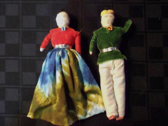 Vintage Navajo Handmade Dolls