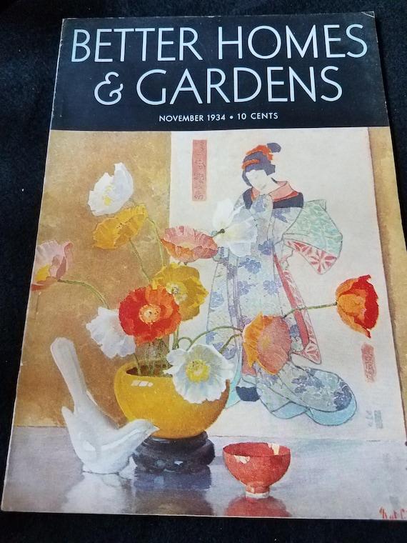 Better Homes & gardens/Magazine/1934/November