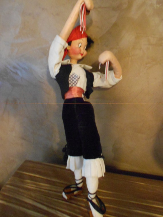 Gaia Spanish Male Dancer Doll