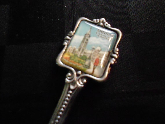 Ottowa Canada Silverplate Souvenir Spoon 1950s