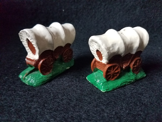 Covered Wagon S & P Shakers 1920s