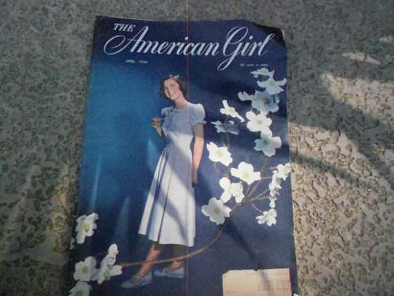 The American Girl Magazine April 1949