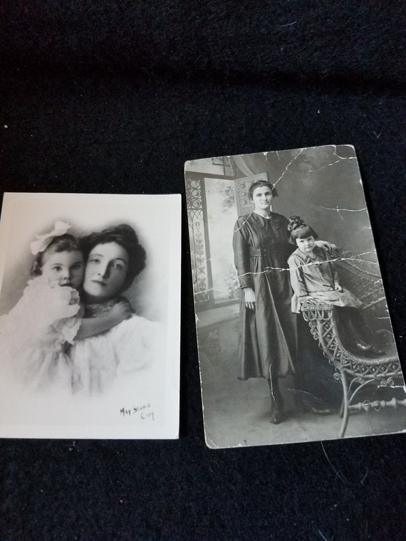 Antique Mother & Daughter Photos