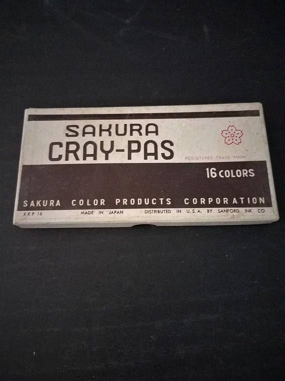 Vintage Sakura Cray-Pas Pastels