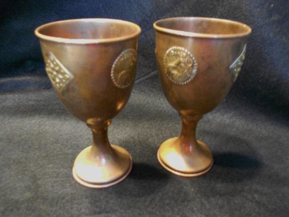 Copper/Goblets/Vintage/Yak