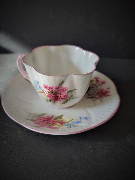 Shelley Stock Tea Cup and Saucer