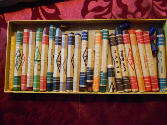 Vintage Talens Crayons