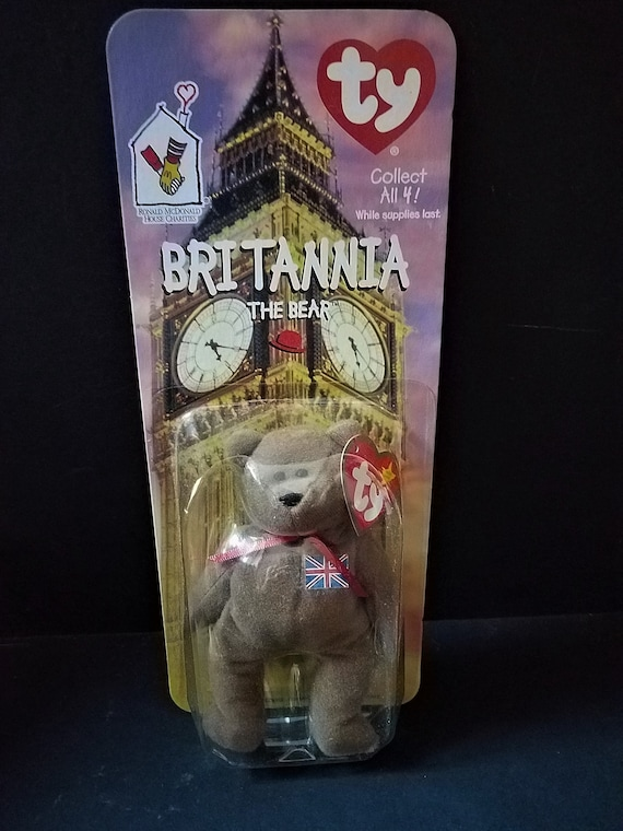 Britannia The Bear Beanie Baby