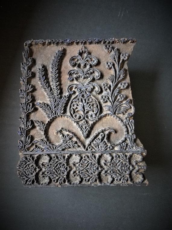 Antique Textile Stamp