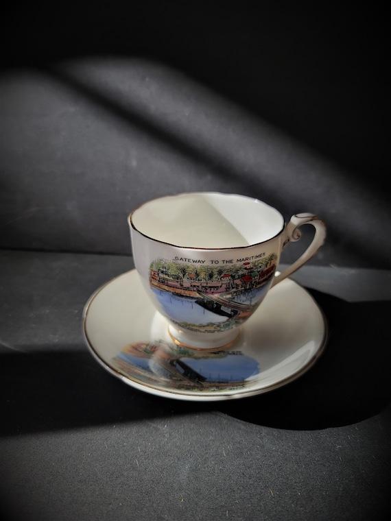 Royal Grafton Souvenir New Brunswick Cup and Saucer