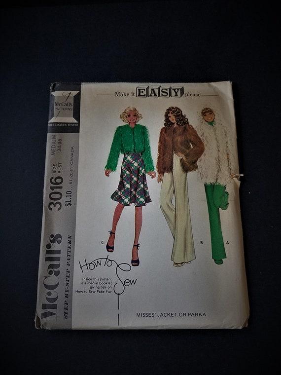 1971 McCalls 3016 Make it Easy