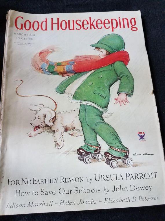 Good Housekeeping/March 1934/Magazine/Ephemera