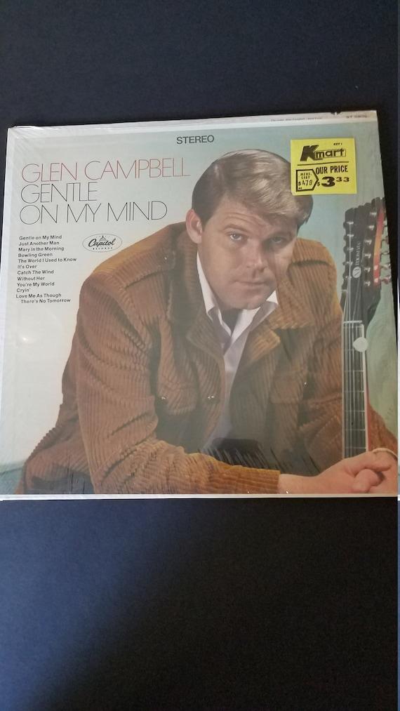 1967 Glen Campbell Album Gentle On My Mind