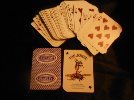 Las Vegas/ Castaways/Deck of Bee Playing Cards/ Collectible/Showboat