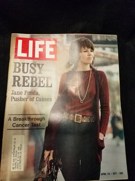 Life Magazine/Jane Fonda/April 1971/Controversy