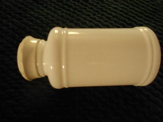 Bottle/ Milk Glass/ Drug Store