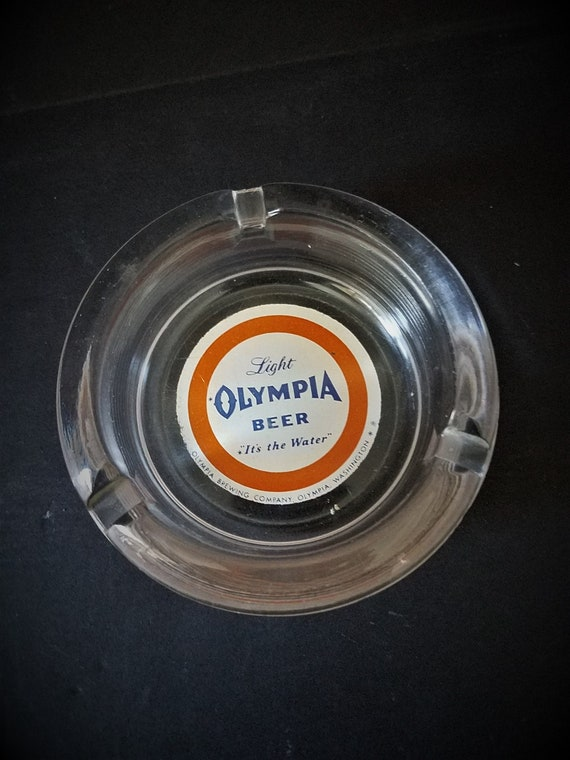 Vintage Olympia Beer Ashtray