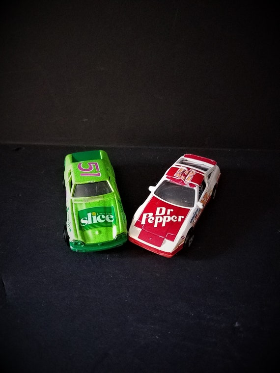 Road Champs Slice and Dr. Pepper Cars