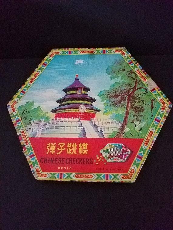Shanghai Made Chinese Checkers c. 1960