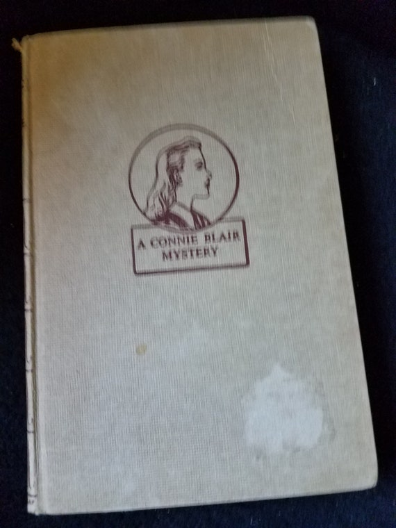 1948 The Clue in Blue A Connie Blair Mystery Betsy Allen
