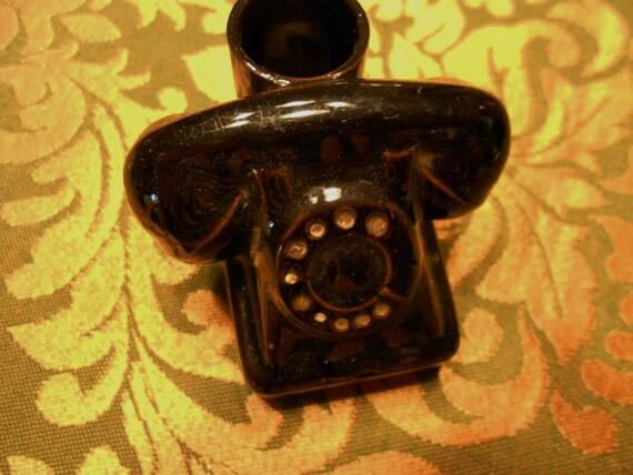 Miniature/Telephone/Vase/Ceramic/Mid Century