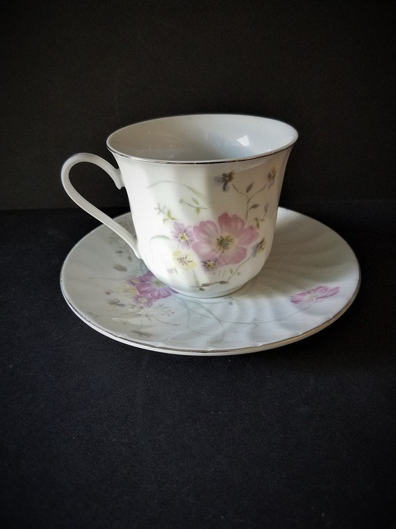 Regent China Cup and Saucer