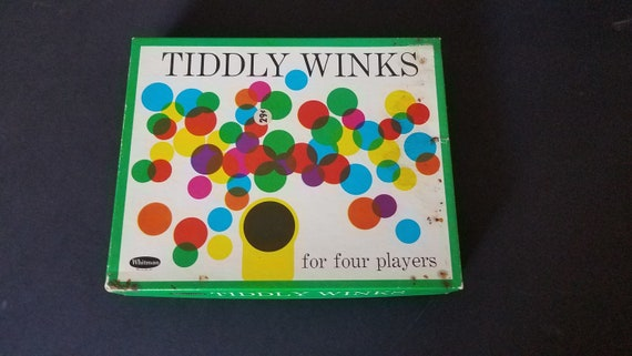 1963 Whitman Tiddly Winks