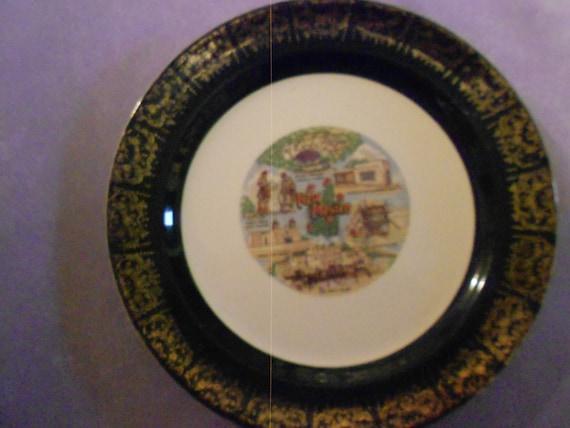 Plate/ New Mexico Souvenir/ Mid Century