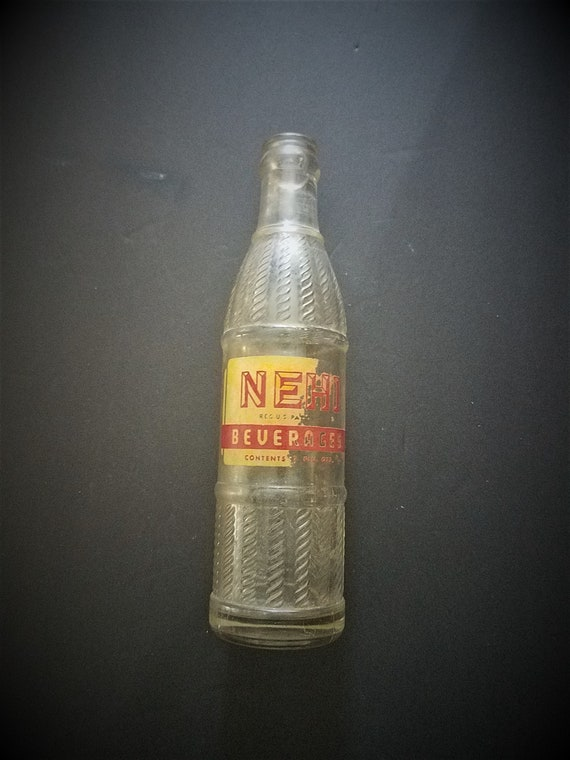 Vintage Nehi Santa Rosa Silk Stocking Bottle