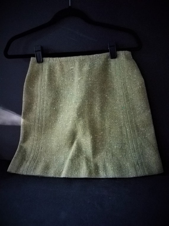 Pendleton  Lime Green Vintage Skirt