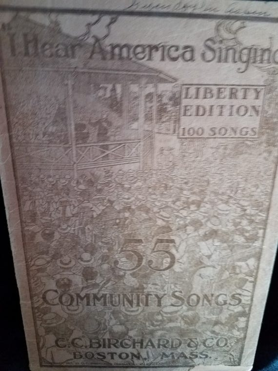 Birchard and Co 55 Community Songs