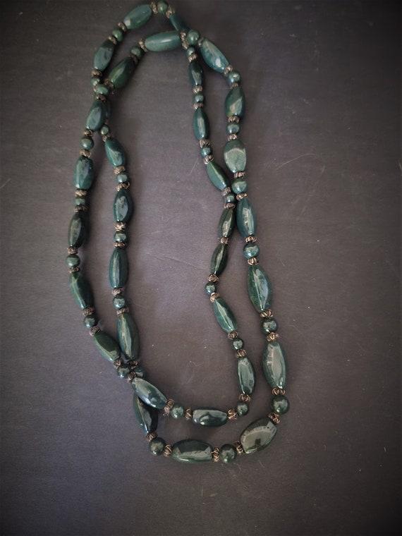 Vintage Bloodstone Necklace