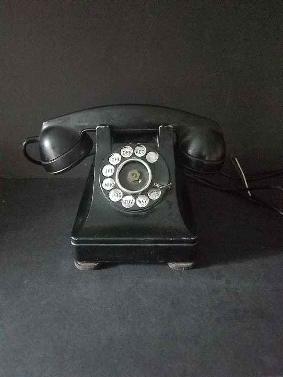 1940s Bakelite Western Electric Telephone