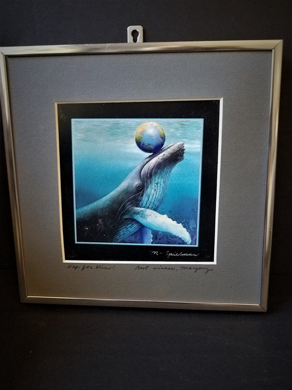 1990s Margery Spielman Signed Print