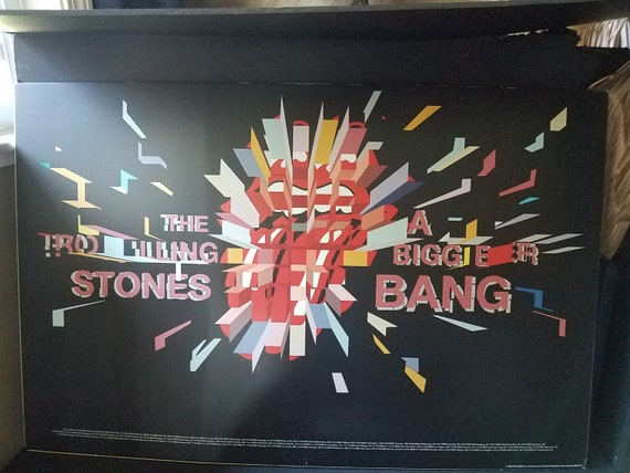 2005 Rolling Stones Biggest Bang Tour Poster