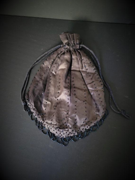 Vintage Evening Bag Drawstring
