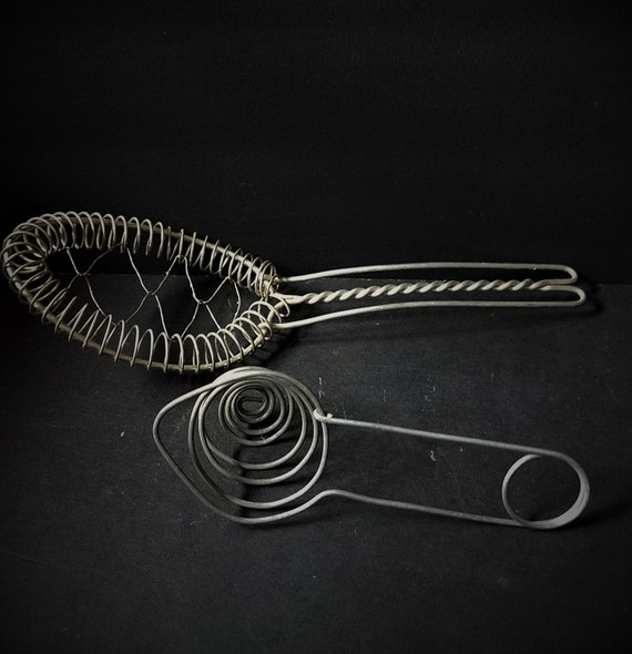 Vintage Wire Whisk and Egg Separator
