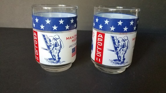 1969 Apollo 11 Glasses