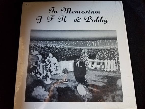 In Memoriam JFK and Bobby LP Vinyl Record