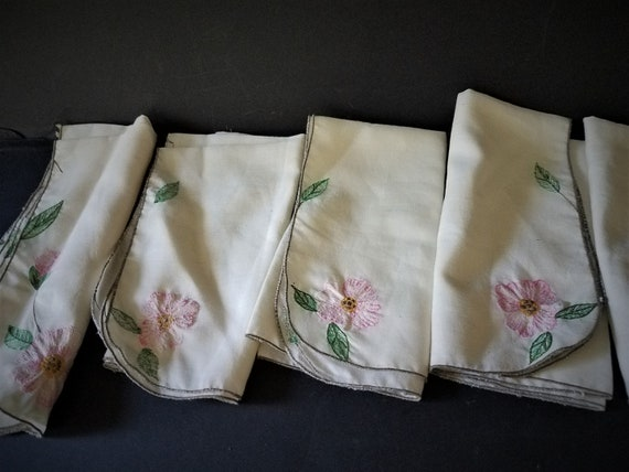 Franciscan Desert Rose Embroidery Napkins
