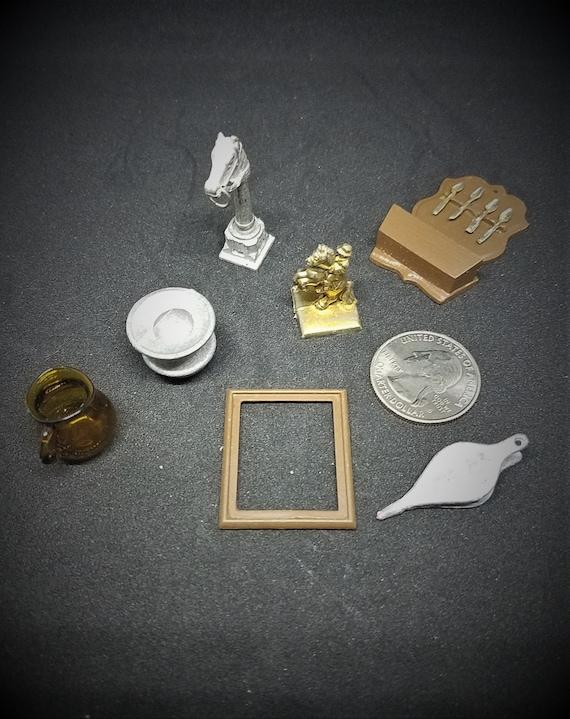 Variety of Miniature Doll House Decor